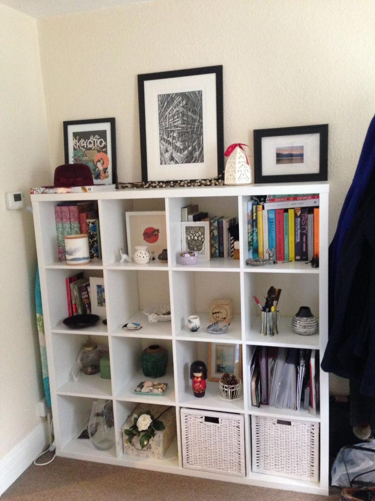 ikea kallax shelf ikea kallax shelving unit in chelmsford essex gumtree die 25 besten ideen zu. Black Bedroom Furniture Sets. Home Design Ideas