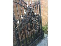 Large Iron Gates