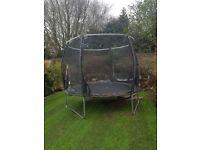 10ft plum magnitude trampoline