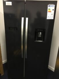 Black Kenwood KSBSDB17 American Style Fridge Freezer with Digital Display - RRP £799