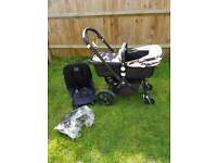 Bugaboo cameleon 3 limited edition black frame and Andy Warhol fabric