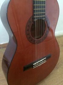 Valencia Classical Acoustic Guitar, 3/4 Size, Kids Size, Nylon Strings