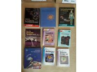 Biomedical science degree course books