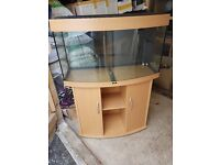 fish and fish tank and unit complete