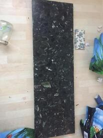 LARGE HEAVY MARBEL LIKE STONE FOR FIREPLACE