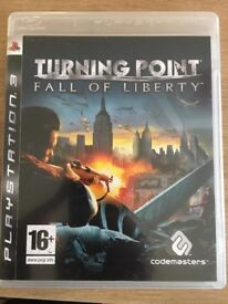 Turning Point: Fall of Liberty PS3 game