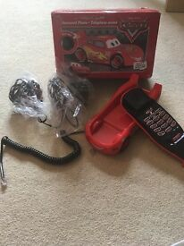 Lightening McQueen telephone