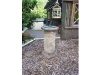 Sundial Garden Ornament Feature