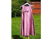 Stunning Kelsey Rose Pink Purple Bridesmaid Part Formal Dress 9-10 Years 70cm Chest
