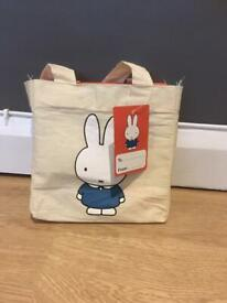 Miffy books in fabric bag