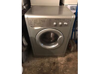 Silver Indesit WIDKL126S Washer & Dryer (Fully Working & 4 Month Warranty)
