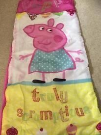 Peppa pig sleeping bag