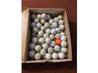 90 different branded golf balls