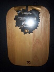 New TG Heveawood Wooden Cutting / Chopping Board IP1