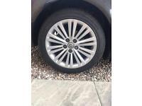 "Insignia 18"" Alloy wheels"