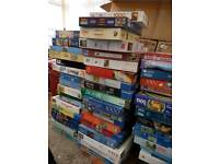70 jigsaw puzzles 1000 and 1500