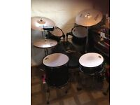 Pearl forum series drum set plus extras