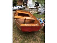 Seahopper folding sailing dinghy
