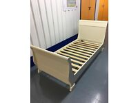 ASPACE children's single sleigh bed in Antique White