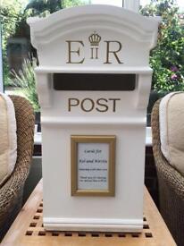 Post box, props and venue dressing