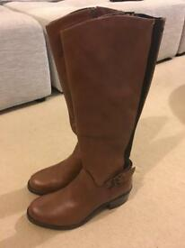 Linea leather boots size 7