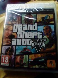 GTA V for PS3 New, sealed