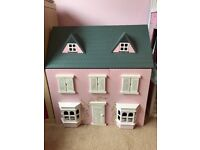 Dolls house and furniture