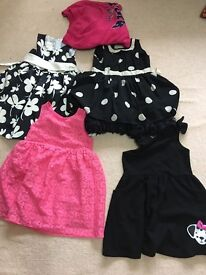 Bundle of girls dresses. 18-24+ months