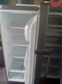 Hot point fridge and frizer silver
