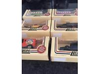 Lledo days gone by cars new in boxes .