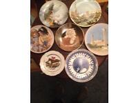 7 decorative plates
