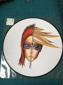 "David Bowie Rebel Never Gets Old 12"" picture disc"