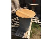 Great looking garden table and try