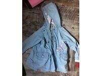 Bundle of girls coats