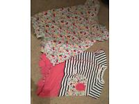 Baby girl rompers 3-6