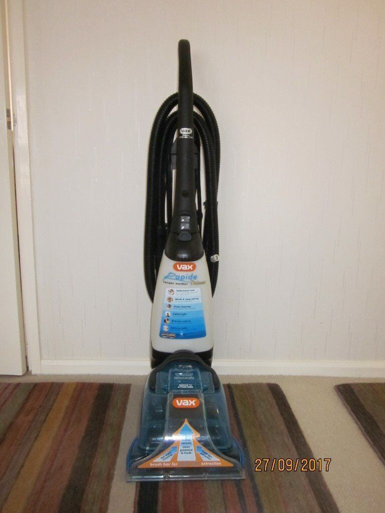Vax Rapide Spring Clean Carpet Cleaner Instructions