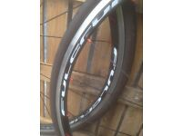 road bike wheels with tyres fulcrum racing 5 £100