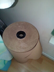 Massive roll of Brown packing/wrapping paper