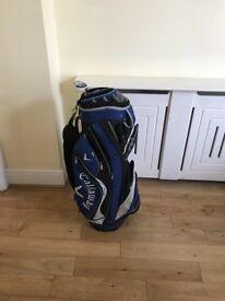 Callaway Golf trolley bag blue/black