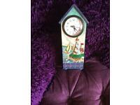 Jim shore clock