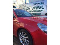 Alloy wheel repair refurbishment powder coating