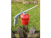 Washing spray gun used