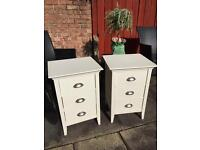 2x John Lewis bed side tables £65