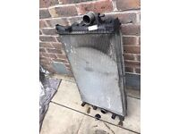 Renault Espace 2.2 DCI Auto AC Radiator Water Radiator And Brackets 2002- 2006