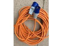25 metre electric caravan cable