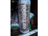 Knauf earthwool loft insulation rolls