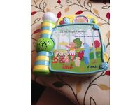 In the night garden sing and slide nursery book vtech