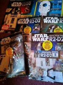 STAR WARS R2 D2 MAG. Build a WORKING R2-D2 by DeAgostini ISSUES 1- 10