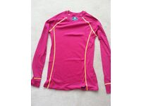 MACPAC women's geothermal long sleeved top - pink