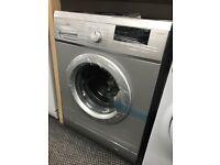 New Graded Logik 7kg Washing Machine - Silver